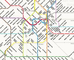13 Fake Public Transit Systems We Wish Existed | This is what L.A. could look like, according to Nick Andert. Click to see the full system.   Nick Andert  | WIRED.com