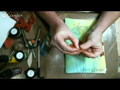 Learn to bind your own Art Journal - YouTube