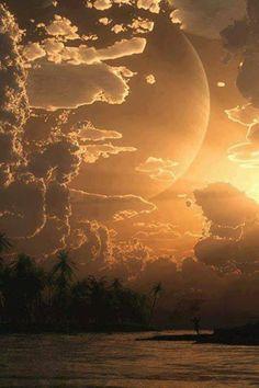 The islands moon
