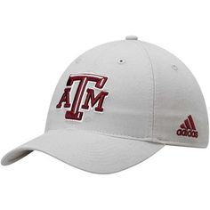 sports shoes 2e8e7 d6144 Men s adidas Gray Texas A M Aggies Basic Slouch Adjustable Hat