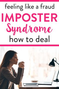 Learn what imposter syndrome is and how to deal with it if you work from home as a freelance writer or remote worker or you have an online job. Writing Portfolio, Blog Writing, Writing Tips, Online Writing Jobs, Freelance Writing Jobs, Easy Online Jobs, Tips Online, Business Checks, Business Tips