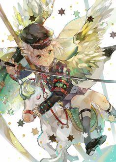 (1) 트위터 Best Anime Drawings, Anime Sketch, Manga Drawing, Anime Chibi, Anime Art, Monster Boy, Art Costume, Le Jolie, Pause