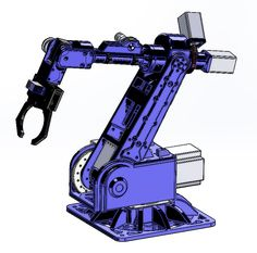 Diy Robot, Robot Arm, Arduino Stepper, Autocad, Nerf Storage, Robotics Projects, Industrial Robots, Diy Tech, 3d Cad Models