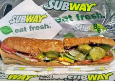 The fast food giant, Subway, has announced that some 200 of it stores no longer sell bacon or ham in the UK due to demands from Muslim communities. Subway as also stated that it will comply with the supply of meat using Halal practices. Hoagie Sandwiches, Cold Sandwiches, Peter Buck, Hamburger Pizza, Subway Sandwich, Fast Food Places, Fresh Eats, Fast Food Menu, Houston Restaurants