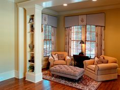 create a book nook in the basement
