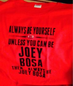 Always be Joey Bosa!!