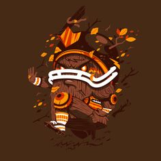 God of the Forest by New Fren, via Behance