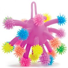 Tentacle Ball - A ball full of stretchy, squishy tentacles tipped with fluffy, rubber-like hair. Great for squeezing and generally playing with, very hard to put down. Price £2.79+vat each. Call 01157 270 777 to purchase this product.
