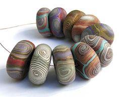 30 easy diy polymer clay beads ideas (23)