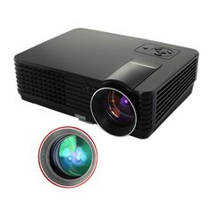 Amazon.com: Support 720P/1080P 1024*600 Native Resolution,2000 lumens 1200:1 Contrast Ratio 16:9/4:3 Wide Screen for Chassroom, Office Conference and Home Entertainment: Electronics