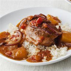 Caribbean Chicken with Mango Coconut Sauce - Price Chopper Recipe Shrimp Recipes, Chicken Recipes, Baked Chicken, Yummy Recipes, Mccormick Recipes, Caribbean Chicken, Coconut Sauce, Coconut Milk, Mango Sauce