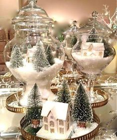 We are very proud to introduce some Elegant Table Centerpiece Ideas For Christmas that will just make your Christmas table standout. Holiday centerpiece decorations are a certain elegant arrangements for your holiday table made of decorative items used i Silver Christmas, Noel Christmas, Christmas Ornaments, Christmas Crafts, Christmas Ideas, Christmas Vignette, Christmas Center Piece Ideas, Christmas Letters, Christmas Tree On Table