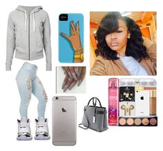 """""""why you lurkin foe"""" by queenag123 ❤ liked on Polyvore featuring James Perse, Retrò and Michael Kors"""