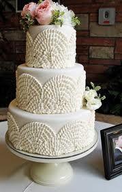 Beautiful textured cake