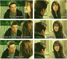 Favorite love story of all time... A Walk to Remember