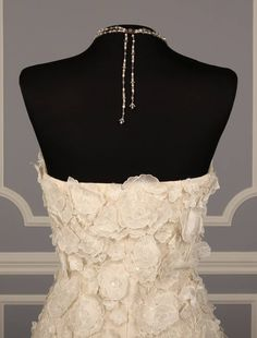 Oscar de la Renta 44E08 Discount Designer Wedding Dress