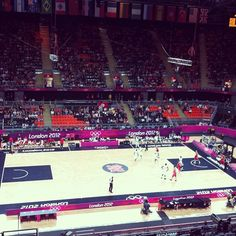 alexmaroliveira's photo  of London 2012 Basketball Arena on Instagram