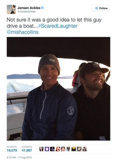 Pin for Later: 24 Jensen Ackles Tweets That Will Instantly Brighten Your Day When He Made #ScaredLaughter a Thing