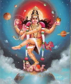 Nataraja, Om Namah Shivaya, Arte Shiva, All God Images, Goddess Lakshmi, Hindu Art, Indian Gods, Gouache Painting, Sacred Art