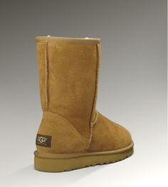 CLASSIC  SHORT UGG boot. size 6.5, color chestnut. $88.84