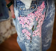 PRESERVE.us - Rialto Cherry Blossoms Boyfriend Jeans