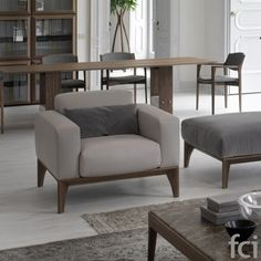 Fellow #Armchair by #Porada starting from £2,651. Showroom open 7 days a week. #fcilondon #furniture_showroom_london #furniture_stores_london #porada_furniture #porada_dining_chairs #modern_dining_chairs #stylish_dining_chairs