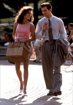Jamie Gertz & Dylan McDermott in Jersey Girl   1992