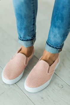 Tracer SlipOns - Blush