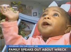 """El bebé identificado como Bryce Hale fue encontrado por los equipos de rescate y sólo con un rasguño en la frente. Ellos dijeron que sólo una """"intervención"""