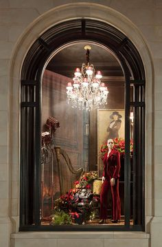 Holiday windows at our Ralph Lauren store in Greenwich, CT