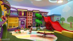 As Brinquedotecas são espaços lúdicos onde as crianças brincam, compartilham momentos de alegria e se socializam com outras crianças.