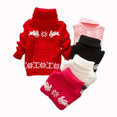 0bbba02b2d93 Cheap boy sweaters knit, Buy Quality boys knit sweater directly from China  girls sweater winter Suppliers: Retail turtleneck knitted sweaters rabbit  boys ...