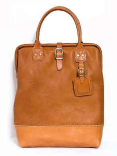 billkirk leather carryall