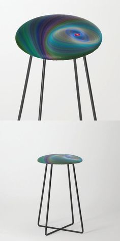 Elliptical Eye Counter Stool by David Zydd #BestCounterStools #Colors #Artwork #Seating #HomeDecoration (tags: color, colorful, interior decoration, kitchen, dining room, furniture, gift design, elliptical, chair, eye, counter stool, room decor, art, bar, stool, room, gift, designer, seating)