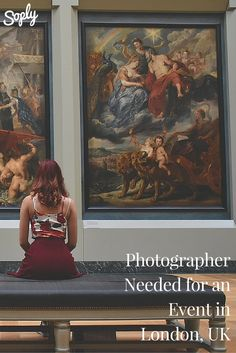 Photographer needed for an exhibition in London, UK. The event is in May 2016. If you are interested in photographing this event, click on the pin!