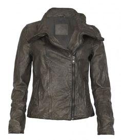 AllSaints   Caledonian Leather Jacket    Italian lamb skin leather