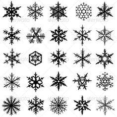 Snowflake Set Collection of various vector hand-drawn snowflakes. Created: GraphicsFilesIncluded: JPGImage Layered: No MinimumAdobeCSVersion: CS Tags: abstract Snowflake Drawing Easy, Christmas Snowflakes, Snow Flake Tattoo, Cute Fall Wallpaper, Hama Beads Design, Persian Motifs, Silhouette Clip Art, Nailart, Snowflakes