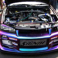 Nissan skyline GTR34 TwinTurboE