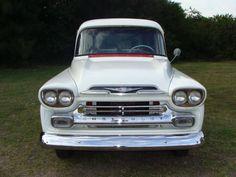1959 CHEVY 3100 APACHE PANEL TRUCK