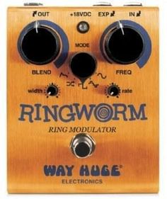 Way Huge Electronics Ringworm Modulator Guitar Effects Pedal