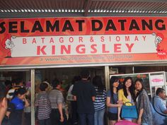 The famous Kingsley Batagor in Bandung Indonesia