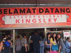The famous Kingsley Batagor in Bandung Indonesia