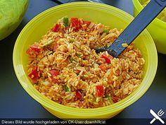 Reissalat mit Mandarinen, ein raffiniertes Rezept aus der Kategorie Schnell und einfach. Bewertungen: 57. Durchschnitt: Ø 4,5.
