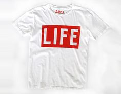 officially licensed LIFE t-shirt for the Altru brand