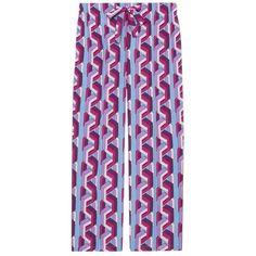 Gucci Web Chain Print Silk Pajama Pant ($1,200) ❤ liked on Polyvore featuring intimates, sleepwear, pajamas, bottoms, clothing /, kirna zabete, silk pjs, silk pyjamas, silk pj pants and silk pajamas