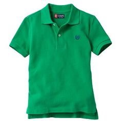 Chaps Solid Polo - Boys 4-7