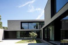 house + swimmingpool VWB | afsnee - Projects - CAAN Architecten / Gent