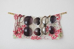 I think it's time I update my wire hanger sunglass organizer! interior-inspiration