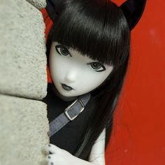 Ashton Drake Galleries debuted a fashion doll version of Emily the Strange, who has a loyal phalanx of felines. From Dollsmagazine Emily The Strange, Le Strange, Ooak Dolls, Art Dolls, It's The Great Pumpkin, Barbie, Elves And Fairies, Gothic Dolls, Found Art