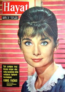 OĞUZ TOPOĞLU : audrey hepburn 1964 hayat dergisi